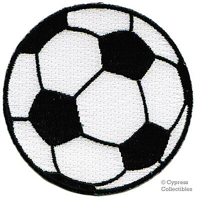 SOCCER BALL PATCH new WORLD CUP FOOTBALL FUTEBOL fútbol embroidered iron-on MLS