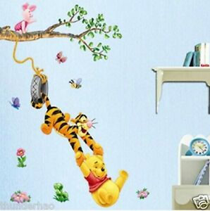Wall-Sticker-Disney-Winnie-The-Poohs-partner-Tree-Baby-Nursery-Room-decor-mural