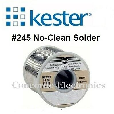 Kester Solder 24-6040-8843 245-no-clean Flux Sn60 Pb40 .015  2 1-lb.