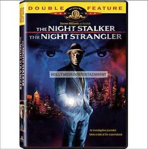 The Night Stalker / The Night Strangler  New OOP DVD - Darren McGavin as Kolchak