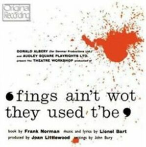 Fings-Ain-039-t-Wot-They-Used-T-039-be-Original-London-Cast-CD-5050457100322-New