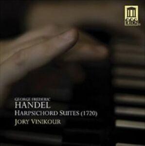 NEW-Handel-Harpsichord-Suites-1720-Audio-CD