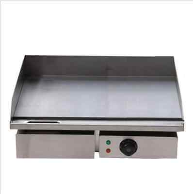Electric Griddle Grill Hot Plate Stainless Steel Commercial Bbq Grill B 3kw 55c