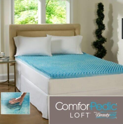 beautyrest 3 inch gel memory foam mattress