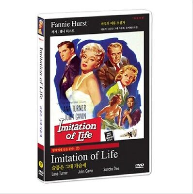 Imitation Of Life (1959) DVD (Sealed) ~ LANA TURNER