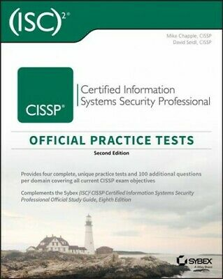 ISC 2 CISSP Certified Information Systems Security Professional Official