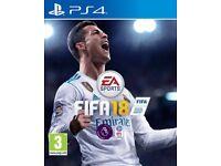 FIFA 18 PS4 SEALED