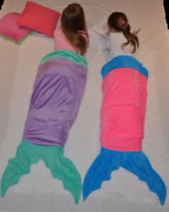 Brand new mermaid blankets, $10 each