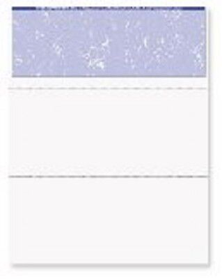 Blank Check Stock - Blank Check Paper Stock - Computer Check On Top Marble PURPLE Count 500