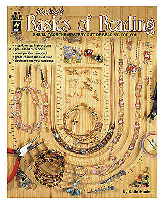 Beading Jewelry Making Craft Book Katie's Basics Of Beading Bead Stringing BOOK2