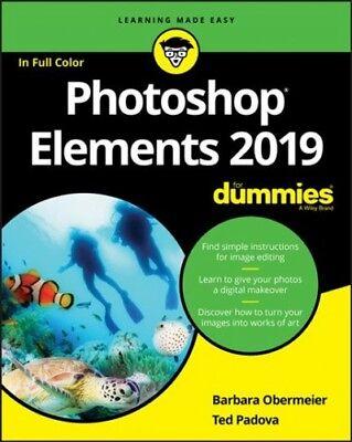 Photoshop Elements 2019 for Dummies, Paperback by Obermeier, Barbara; Padova,...