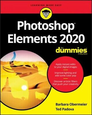 Photoshop Elements 2020 for Dummies, Paperback by Obermeier, Barbara; Padova,...