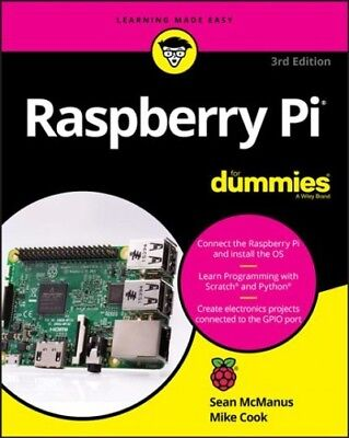 Raspberry Pi for Dummies, Paperback by McManus, Sean; Cook,