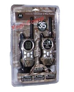 Motorola MR355R Two Way Radio 2-Way Walkie Talkie Talkabout RealTree Camo NEW