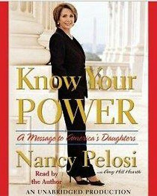 Book Audiobook Cd Nancy Pelosi Message To Daughters Know Your Power