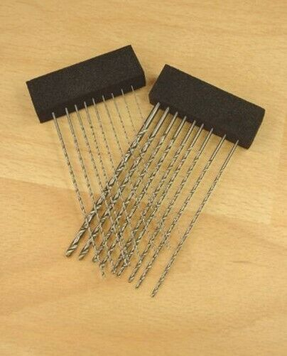 Expo 18pc Extra Long HSS Twist Drill Set 0.5mm to 3mm # 11560