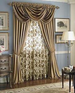 Luxurious Hilton Window Treatment Window Curtain Royal