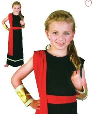 Kinder Römische Mädchen Kostüm Griechische Göttin Toga Kostüm (Griechische Göttinnen Kostüm Kinder)