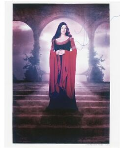 LIV-TYLER-Signed-10x8-Photo-Arwen-In-LORD-OF-THE-RINGS-COA