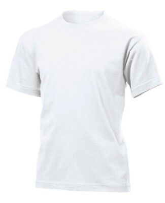 48 Childrens Kids Boys Girls Plain WHITE Cotton T-Shirts T Tee Shirts Wholesale