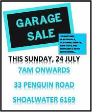 GARAGE SALE IN SHOALWATER - GET IN QUICK FOR  A BARGAIN!! Shoalwater Rockingham Area Preview