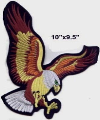 "Large US Eagle For Jacket Embroidered Patch 10"" on Rummage"