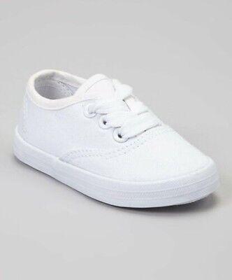 Jungen Mädchen Kleinkind 1-10 Neu & Großartig für Dekoration (Weiße Schuhe Für Kleine Mädchen)