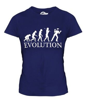 MIME EVOLUTION OF MAN LADIES T-SHIRT TEE TOP GIFT CLOTHING ARTIST