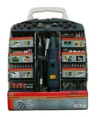 Amoladora Eléctrica Rotativo/Minidrill 135W Tipo Mini Drill Con 217 Accesorios +