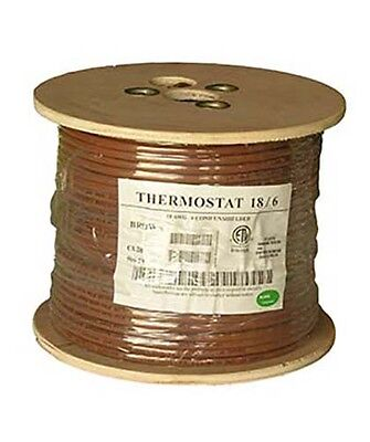 500ft 186 Unshielded Cmr Heating Air Conditioning Hvac Ac Thermostat Wire Cable