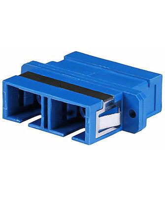 SC-SC Multimode Duplex Optical Fiber Optic Cable Coupler Adapter Coupling