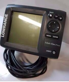 LOWRANCE FISH FINDER MARK 5X PRO