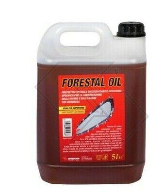 Bomba de Aceite Protector Biodegradable Desgaste Cadena Motosierra Forestal 5L