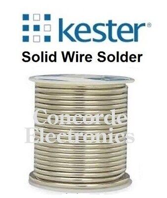 Kester Lead-free Solid-wire Solder Sn95sb05 Silver-like .125 Reg 46