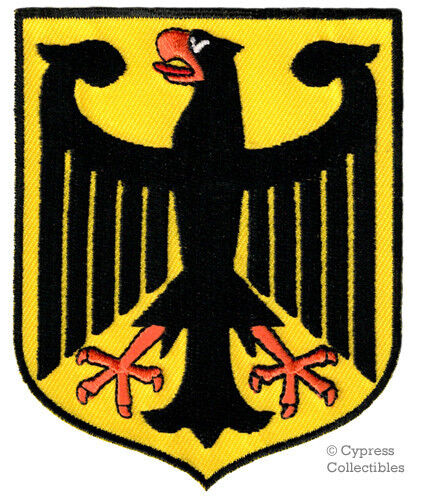GERMAN EAGLE embroidered PATCH GERMANY iron-on Bundesadler Aufnäher Deutschland