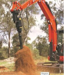 Post Hole Digger / Auger Drive / Screw Pile driver