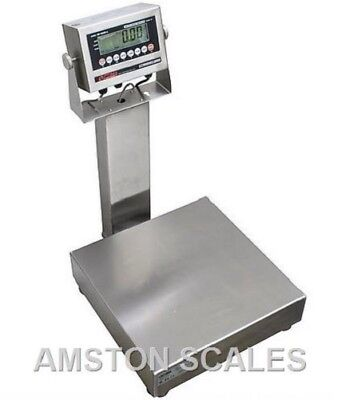 100 X 0.02 Lb Digital Bench Scale 12x14 Ntep Legal Trade Washdown Water Proof