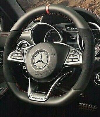 Mercedes-Benz Oem R172 SLC Klasse Rot Kunst Edition Rot Trimmed Lenkrad Neu