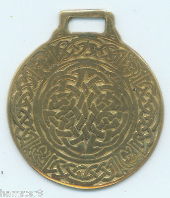 CELTIC CIRCLE  Horse brass  (N570)                   (I always combine shipping)