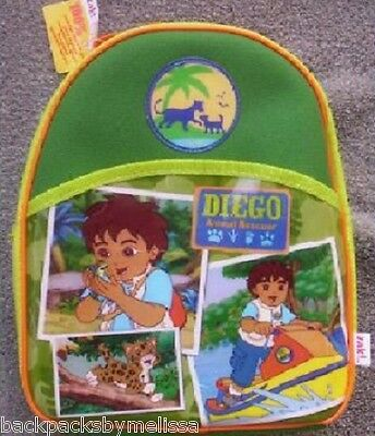 Go DIEGO Go Lunchbox INSULATED Lunch Box Bag NeW Animal Rescue Dora the Explorer