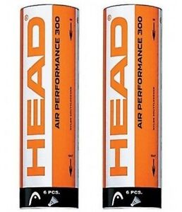 Head-Air-Performance-300-Badminton-Shuttlecocks-White-12-shuttles-Reg-30