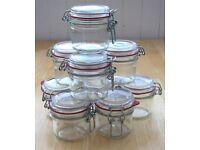 9 x Kilner Jars £3 the lot - Preserving, Jamming, Pickling Jars