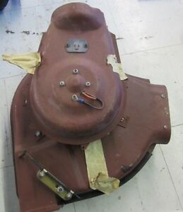 Early 1960s Chevrolet Cadillac Heater Vent Blower Motor Assembly
