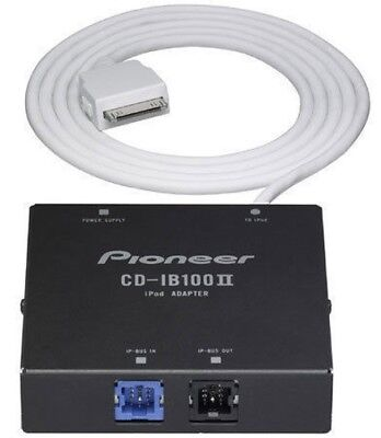 - PIONEER HEADUNIT STEREO CD-IB100 II IP-BUS IPOD INTERFACE ADAPTOR. ORIGINAL NEW