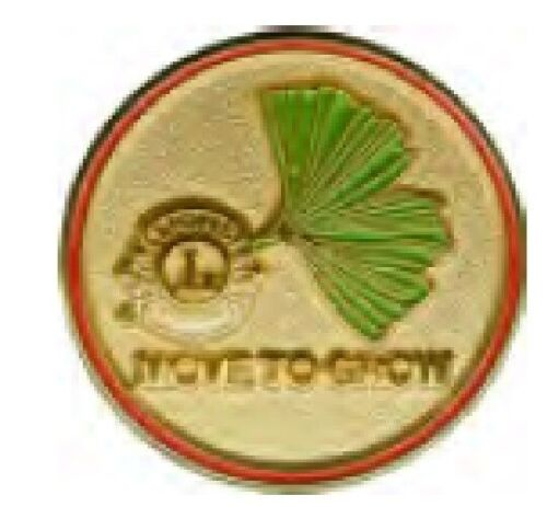 Lions Club Pins - International Presidents Pin 2010 Move to Grow