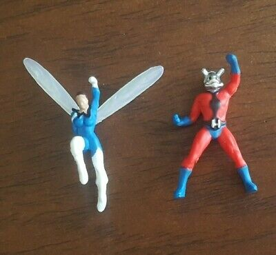 Marvel Legends Mini Antman and Wasp figures from Avengers Vintage Retro
