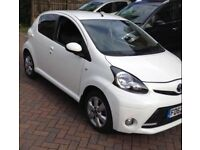 2012 / 62 Facelift Toyota Aygo 5 Door Fire Edition White