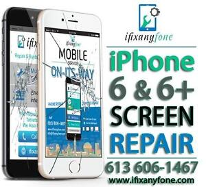 iPhone Screen Replacement - iPad Digitizer Repair - iPhone Battery - iPhone Not Charging - 613 606-1467