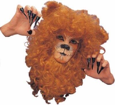 iger Löwe Gesicht Mähne Tier Kostüm Zubehör (Löwe, Mähne, Tier Kostüm)