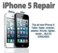 fix iphone 4/4s/5/5c/5s, fast service, only take 20 mins